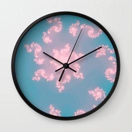 Summer Skies Of Love Wall Clock
