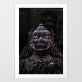 Guardian Statue Art Print