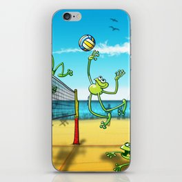 Olympic Volleyball Frog iPhone Skin