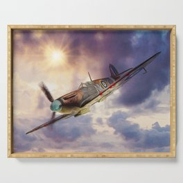 Supermarine Spitfire Serving Tray