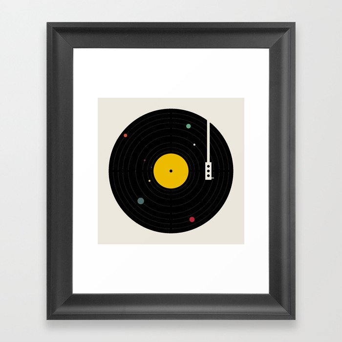 Music, Everywhere Gerahmter Kunstdruck