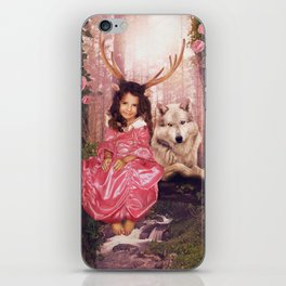 Princess of the Forest iPhone Skin