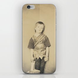 Photograph by Lewis Carroll Achilles in His Tent, 1875 iPhone Skin