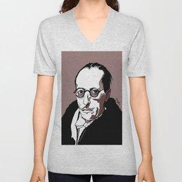 Stravinsky Russian Composer Portrait Art Wall Decor Home House Furniture Frame Music Musician Musica Unisex V-Neck