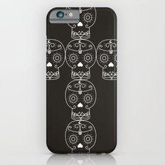 skull cross iPhone 6s Slim Case