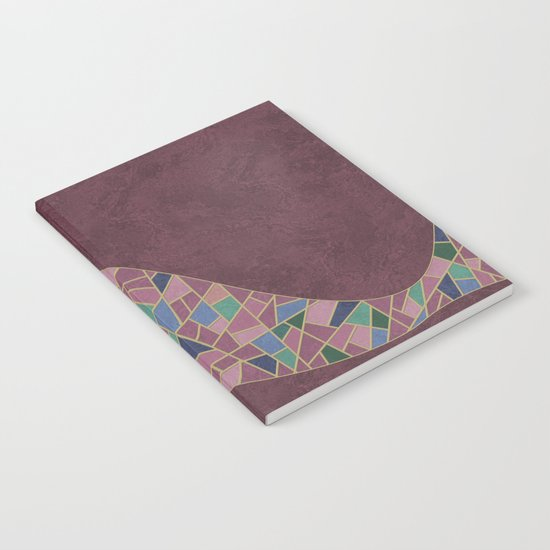 Geometric Marble 03 (abstract) Notebook