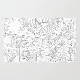 Munich, Germany Minimalist Map Rug
