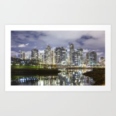False Creek  Art Print