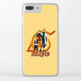 Boruto Naruto Minato Clear iPhone Case
