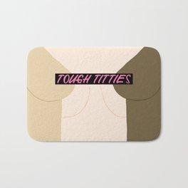 Tough Titties - Censored Version Bath Mat