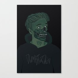 Joe is a Skull Canvas Print
