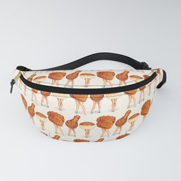 Two Piece & a Biscuit Pin-Ups Fanny Pack