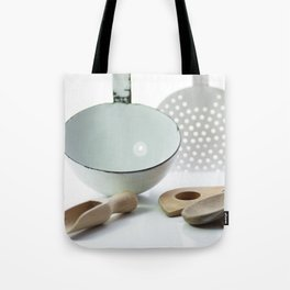 Spoon of old and new from time Tote Bag