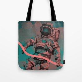 Fallen Astronaut Tote Bag