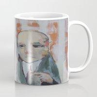 mirror Mugs featuring Mirror by Gigi Lee
