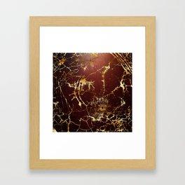 KINTSUGI  ::  Accept Fate Framed Art Print
