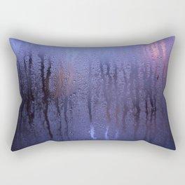 Purple Condensation Rectangular Pillow