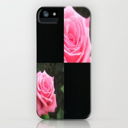 Pink Roses in Anzures 4 Blank Q2F0 iPhone Case