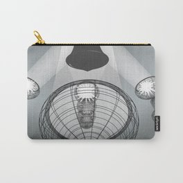 Light Illustration Carry-All Pouch