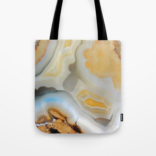 Autumnal Agate Tote Bag