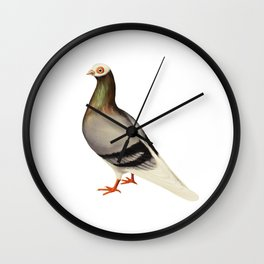 Le Pigeon Wall Clock