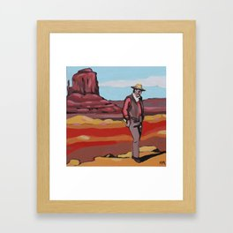Ol' Lonesome Framed Art Print