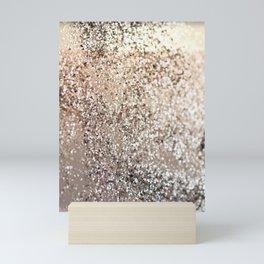 Sparkling GOLD Lady Glitter #2 #decor #art #society6 Mini Art Print