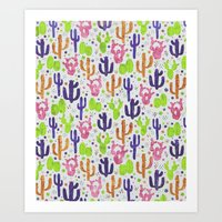 succulents Art Prints featuring Succulents by 83 Oranges™