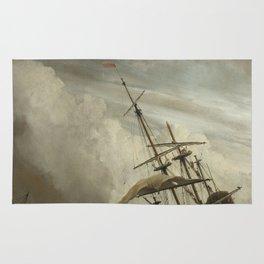 Willem Van De Velde II - The Cannon Shot Rug