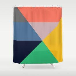 Mid Century Modern Vintage 11 Shower Curtain