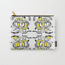 Yellow flower tile Carry-All Pouch