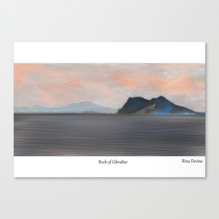 Rock of Gibraltar 2 Canvas Print