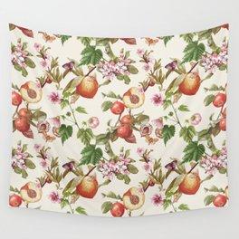 botanical fruits Wall Tapestry