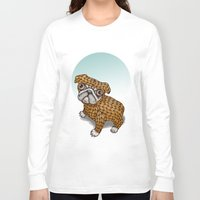 puppy Long Sleeve T-shirts featuring PUPPY by evafialka
