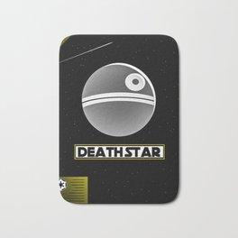 Death Star Poster Bath Mat
