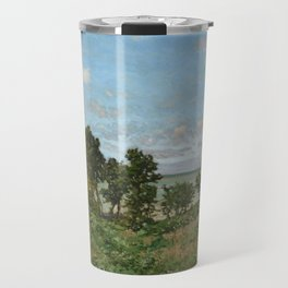 Claude Monet - Coastal landscape Travel Mug