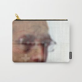 cross over man over wall Carry-All Pouch