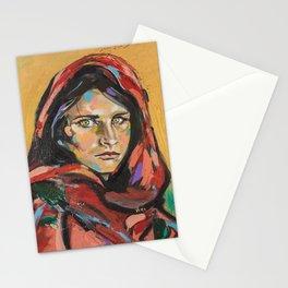 Afghan Girl (Sharbat Gula) Stationery Cards