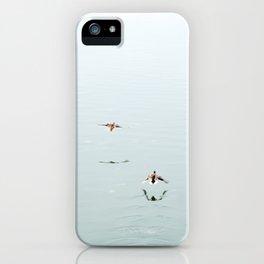 Birds in flight iPhone Case