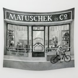 The shop around the corner Wall Tapestry