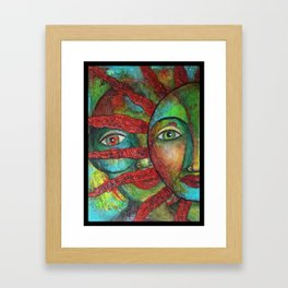 Facing the Sun 2 Framed Art Print