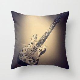 Héroe de la Guitarra Throw Pillow
