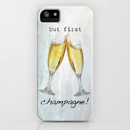 Champagne! iPhone Case