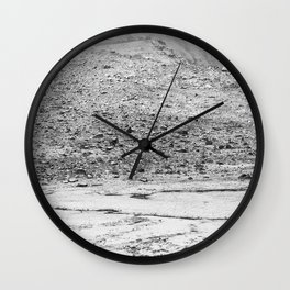 The snow house Wall Clock