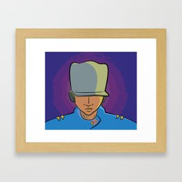 Electric Griot: Icon Framed Art Print