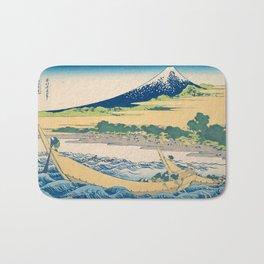 Katsushika Hokusai - Tago Bay Blockprint Bath Mat
