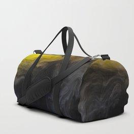 Vivid Mix Of Ink Clouds Duffle Bag