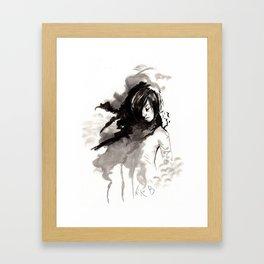 Miseria de los miserables (sketch version) Framed Art Print
