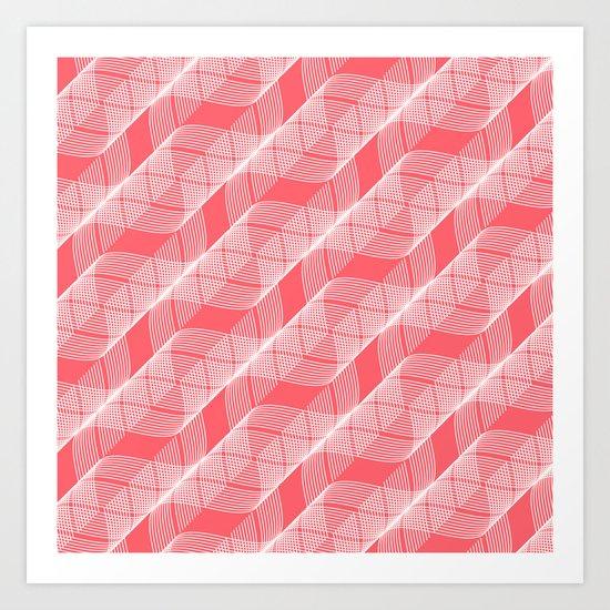 Helix Coral Art Print