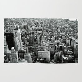 NEW YORK CITY # Black&White Rug
